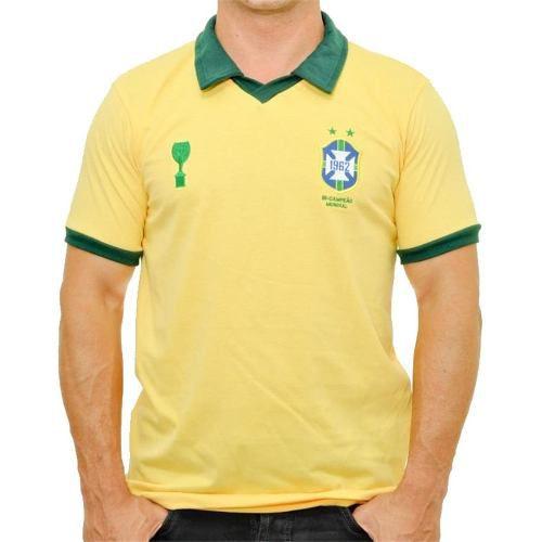 Camisa Brasil Retrô 1962