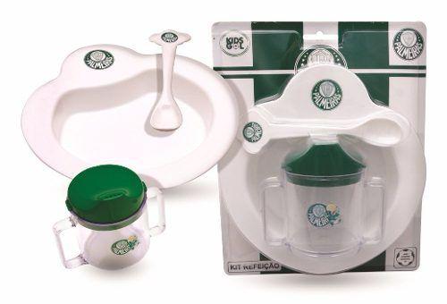 Kit Refeição Bebê Do Palmeiras