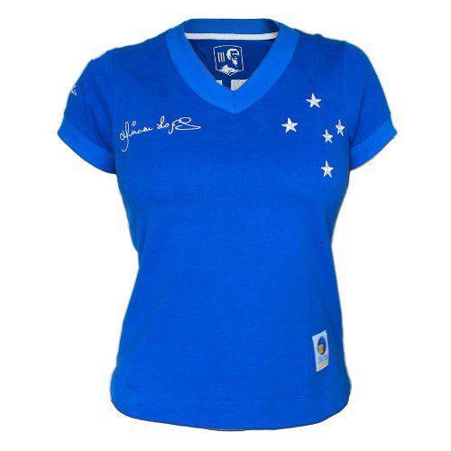 Camisa Retrô Cruzeiro 1966 Feminina