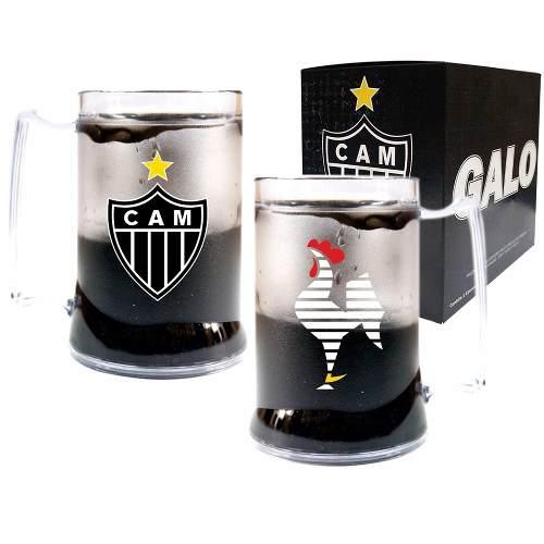Caneca Chopp Gel - Atlético Mineiro - Galo Volpi
