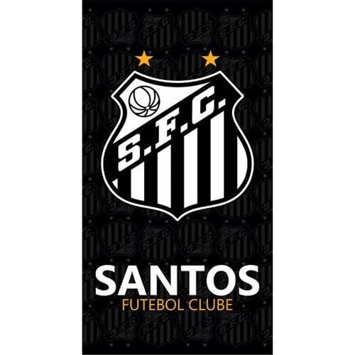 Toalha De Banho Felpudo Estampado Santos