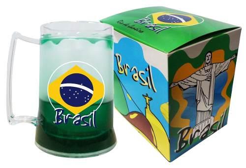 Caneca Chopp Gel - Brasil