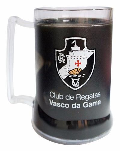 Caneca Chopp Gel Preta - Gigante Desde 1898 - Vasco
