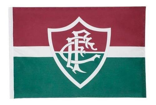 Bandeira Oficial - Torcedor 1,20 X 0,80 Cm. Fluminense