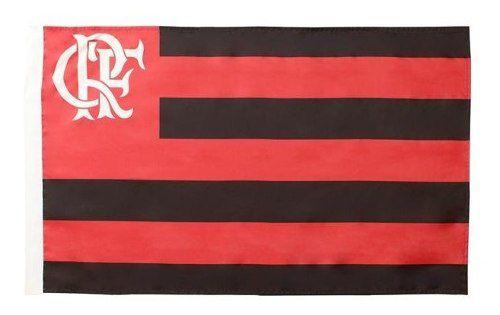 Bandeira Oficial - Torcedor 1,20 X 0,80 Cm. Flamengo