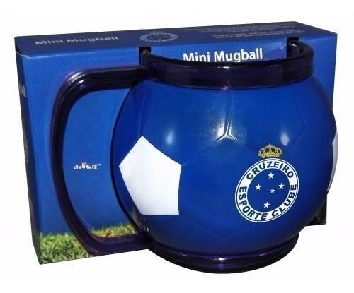 Mini Caneca Bola Do Seu Time - Cruzeiro