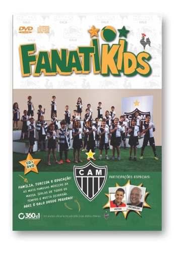 Dvd Atlético Mineiro Galo Fanatikids