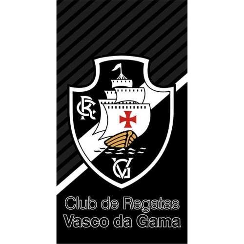 Toalha De Banho Felpudo Estampado Vasco da Gama