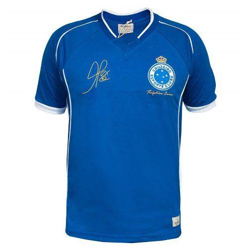 Camisa Retrô Cruzeiro 2003 Tríplice Coroa Alex