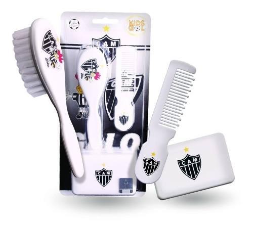 Kit Banho Bebê Do Atlético Mineiro Galo