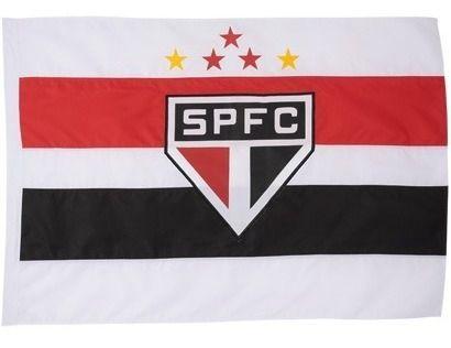 Bandeira Oficial - 2 Panos 1,30 X 0,90 Cm. São Paulo