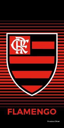 Toalha Veludo Flamengo Escudo