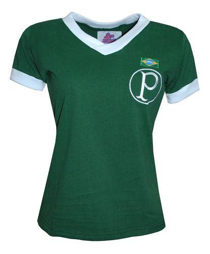 Camisa Retrô Palmeiras 1951 Feminina