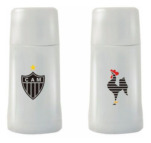 Garrafa Térmica 250 ml Branca Atlético