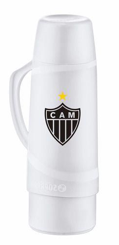 Garrafa Térmica 1 Litro Branca Atlético