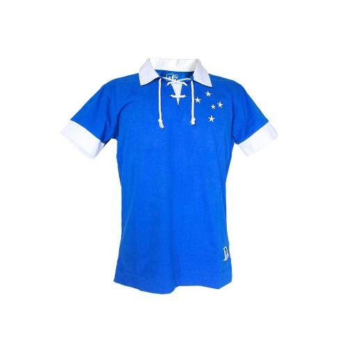 Camisa Masculina Polo Retro Dirceu Lopes Cruzeiro