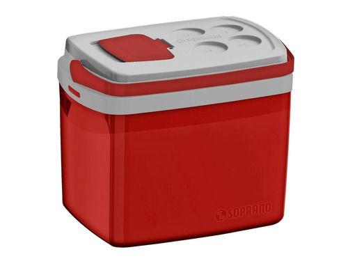 Caixa Térmica 32 Litros Vermelha Tropical Soprano