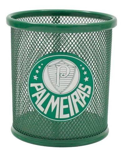 Porta Caneta De Metal Palmeiras