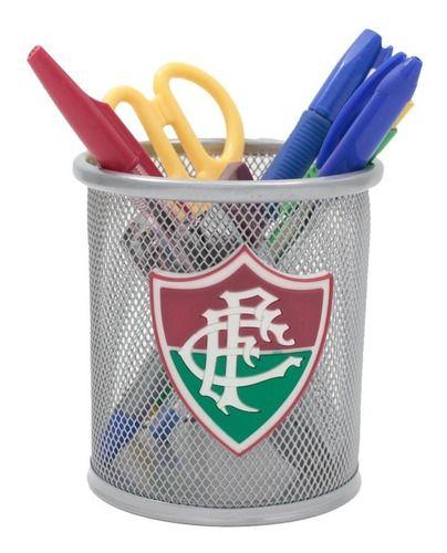 Porta Caneta De Metal Fluminense