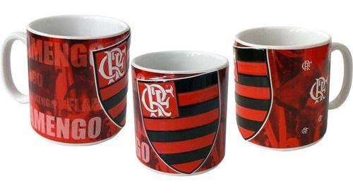 Caneca De Cerâmica 350 Ml - Flamengo