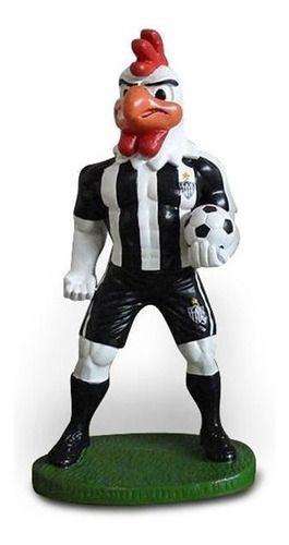Mascote Gesso Do Atlético Mineiro - Galo 20 Cm.