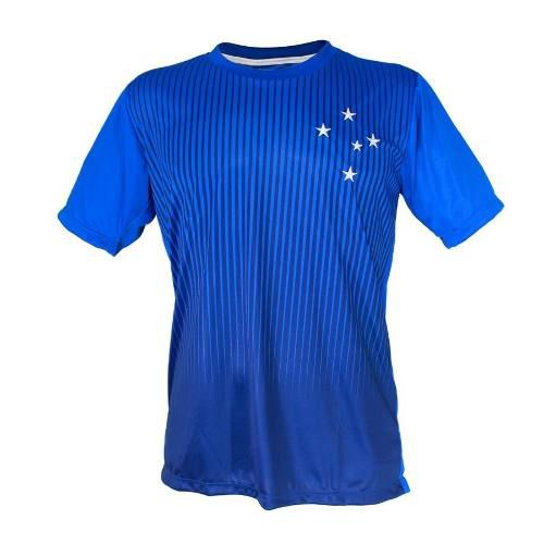 Camisa Masculina Estrelas Bordadas Cruzeiro