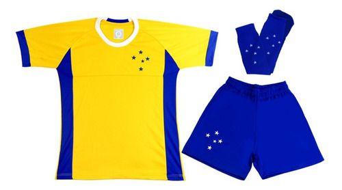 Conjunto Infantil Juvenil Goleiro Cruzeiro