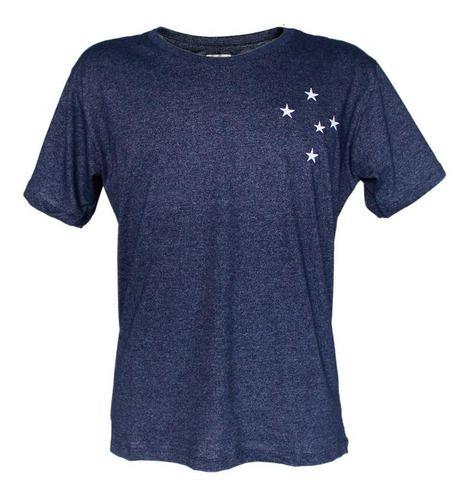 Camisa Infantil Estrelas Bordadas Cruzeiro