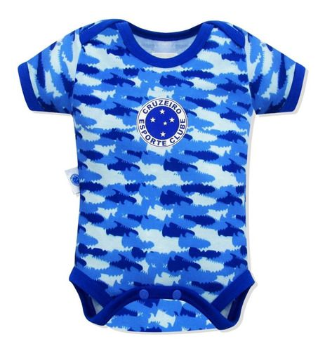 Body Bebê Cruzeiro Camuflado Oficial