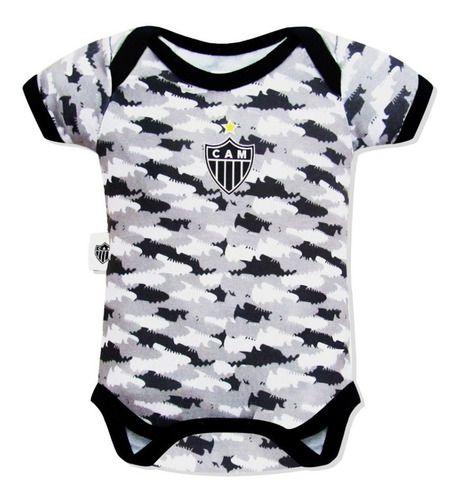 Body Bebê Atlético Camuflado Oficial