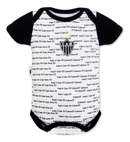 Body Bebê Atlético Frase Oficial