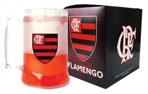 Caneca Chopp Gel - Flamengo