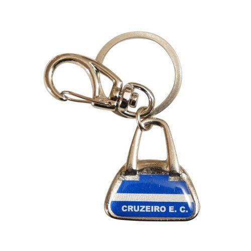 Chaveiro Bolsa Resinado Cruzeiro