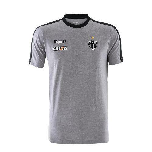 Camisa Concentração Atlético Mg 2018 Topper