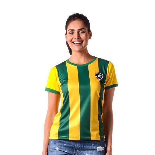 Camisa Feminina Botafogo Brasil Hexa