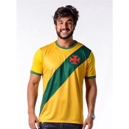 Camisa Vasco Brasil Hexa