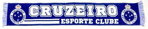 Cachecol Oficial Licenciado - Cruzeiro Esporte Clube