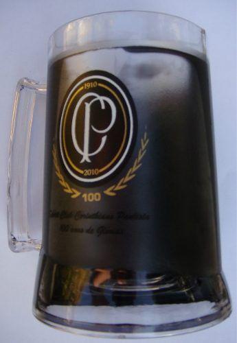 Caneca Chopp Gel - Centenário Corinthians