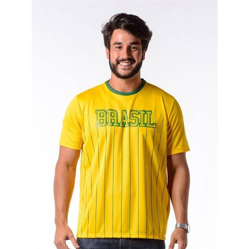 Camisa Masculina Xingu Brasil