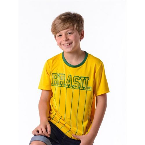 Camiseta Infantil Xingu Brasil Copa Hexa