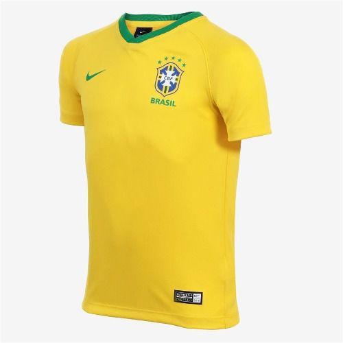 Camisa Nike Brasil I 2018/2019 Torcedor Estádio Masculina