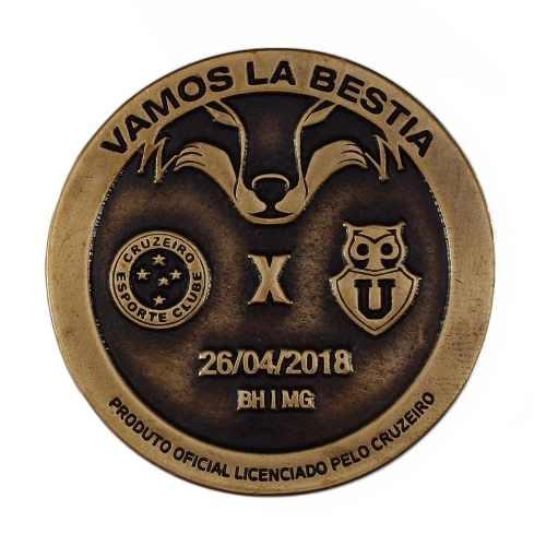 Moeda Libertadores Cruzeiro X Universidad Chile