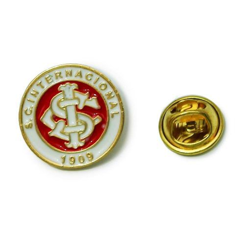 Boton Broche Pin Do Internacional Produto Oficial
