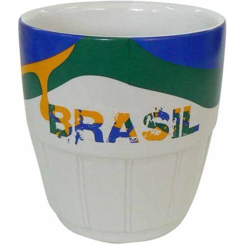 Copo Caipirinha Cerâmica 360 Ml Brasil