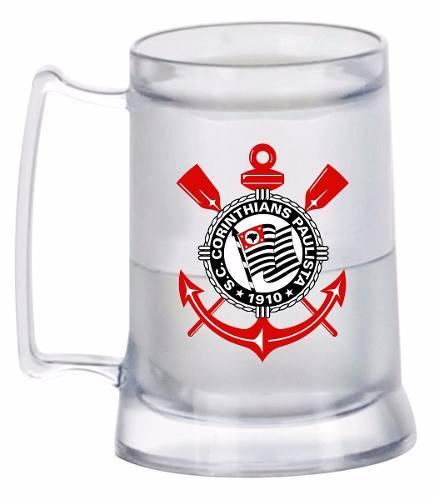 Caneca Chopp Gel - Corinthians