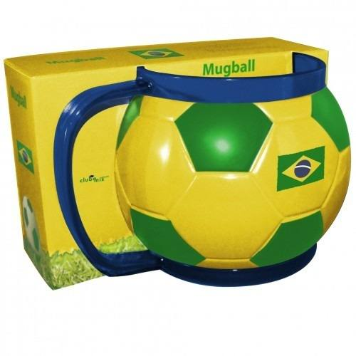 Caneca Bola Do Seu Time - Brasil