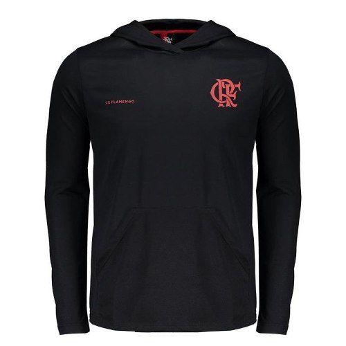 Camisa Flamengo Velve Manga Longa