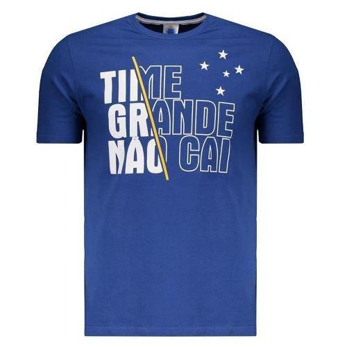 Camisa Masculina Time Grande Não Cai Cruzeiro