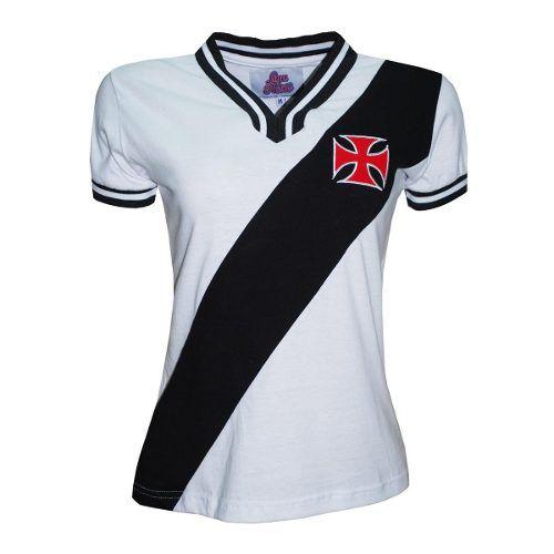 Camisa Retrô Feminina Vasco 1974