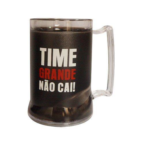 Caneca Gel Time Grande Não Cai Flamengo
